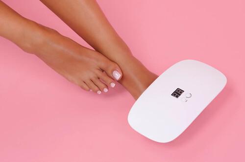Feet Gel Nail Polish at home
