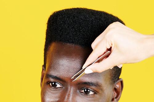 Men's Eyebrow Wax at home
